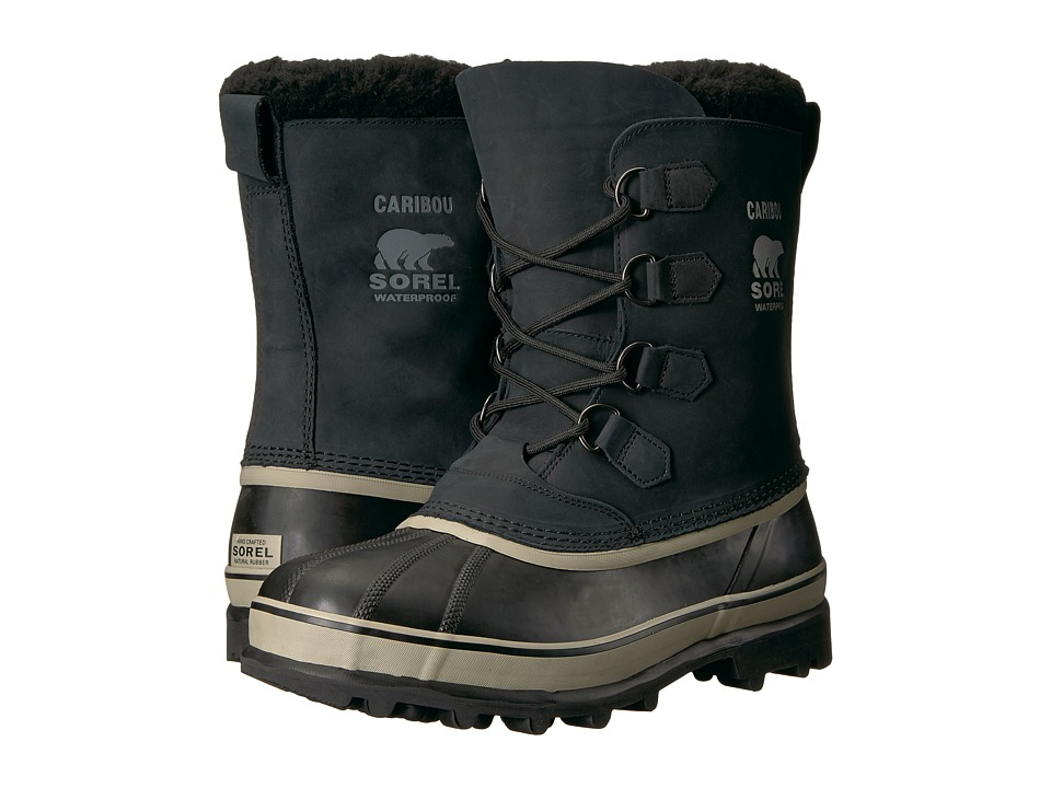 SOREL Caribou (Black/Tusk 08) Men