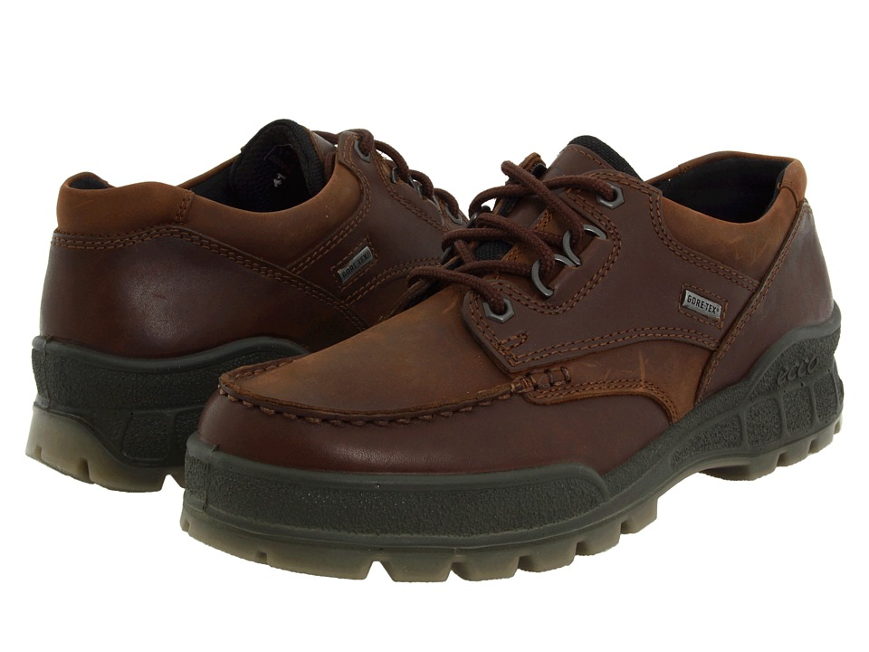 ECCO - Track II Low (Bison Leather/Bison Nubuck) Men's Lace up casual Shoes