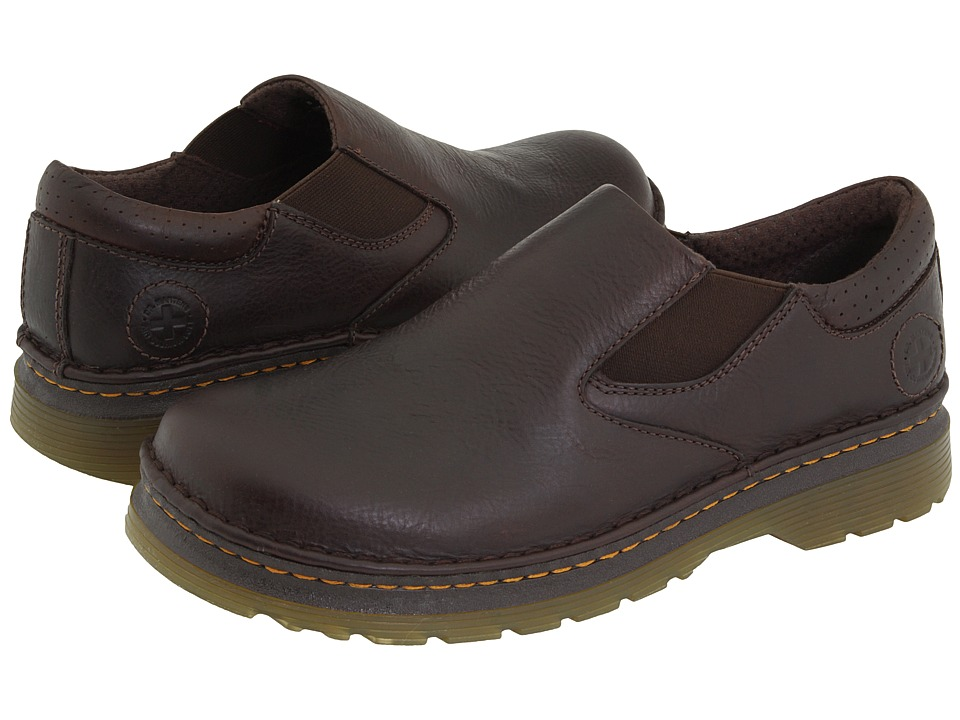 Dr. Martens - Orson (Dark Brown Overdrive) Mens Slip on  Shoes