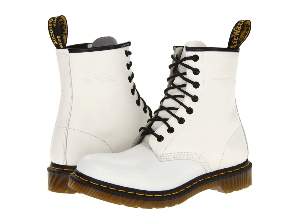 Dr. Martens 1460 W (White Smooth) Women