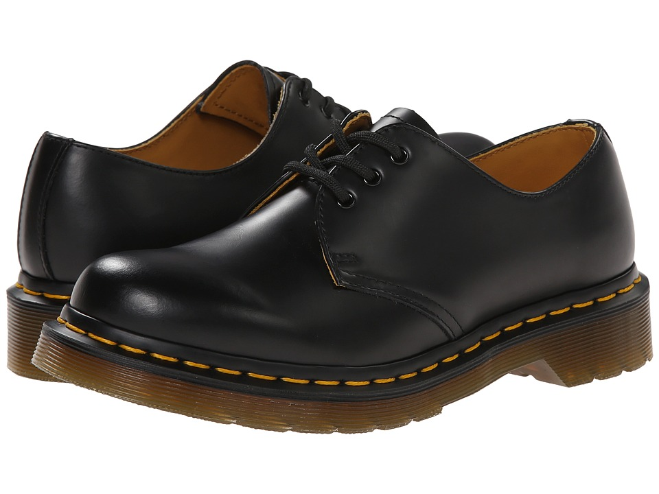 Dr. Martens 1461 W (Black Smooth) Women's Shoes