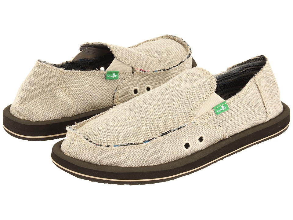 Sanuk - Hemp (Natural) Mens Shoes