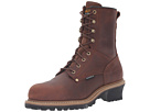 Carolina Elm Waterproof Plain Toe Logger ST CA9821