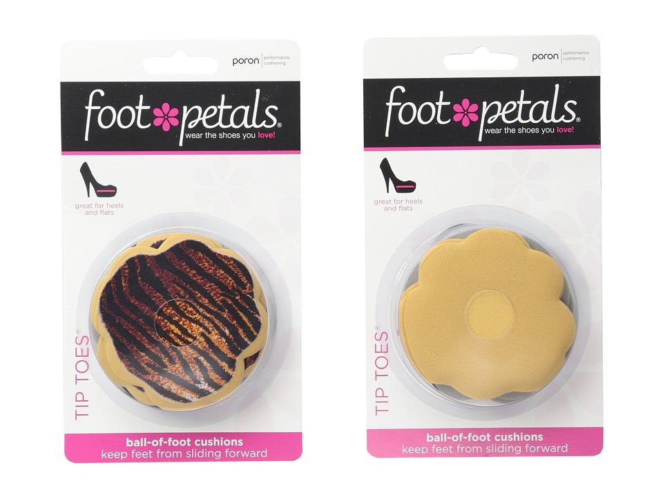 Foot Petals Tip Toes 6 Pair Pack Combo Combo And Safari Remedies Foot Care