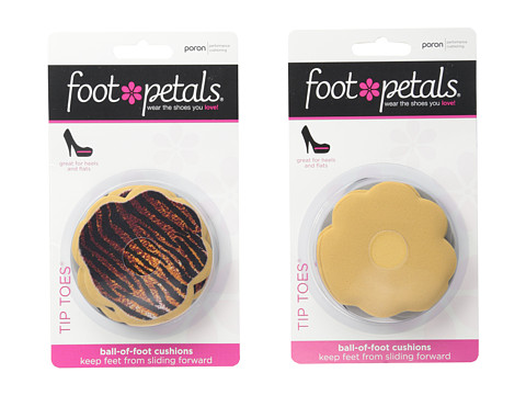 Foot Petals Tip Toes 6-Pair Pack Combo