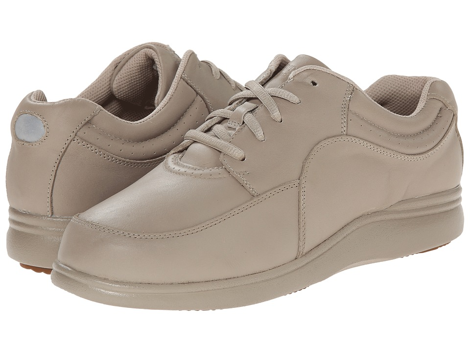 Hush Puppies - Power Walker (Taupe Leather) Womens Walking Shoes