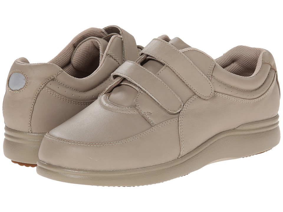 Hush Puppies Power Walker II (Taupe Leather) Women's Walking Shoes