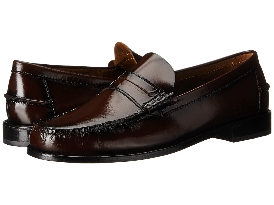Florsheim Berkley Penny Loafer (Burgundy) Men's Slip on  ...