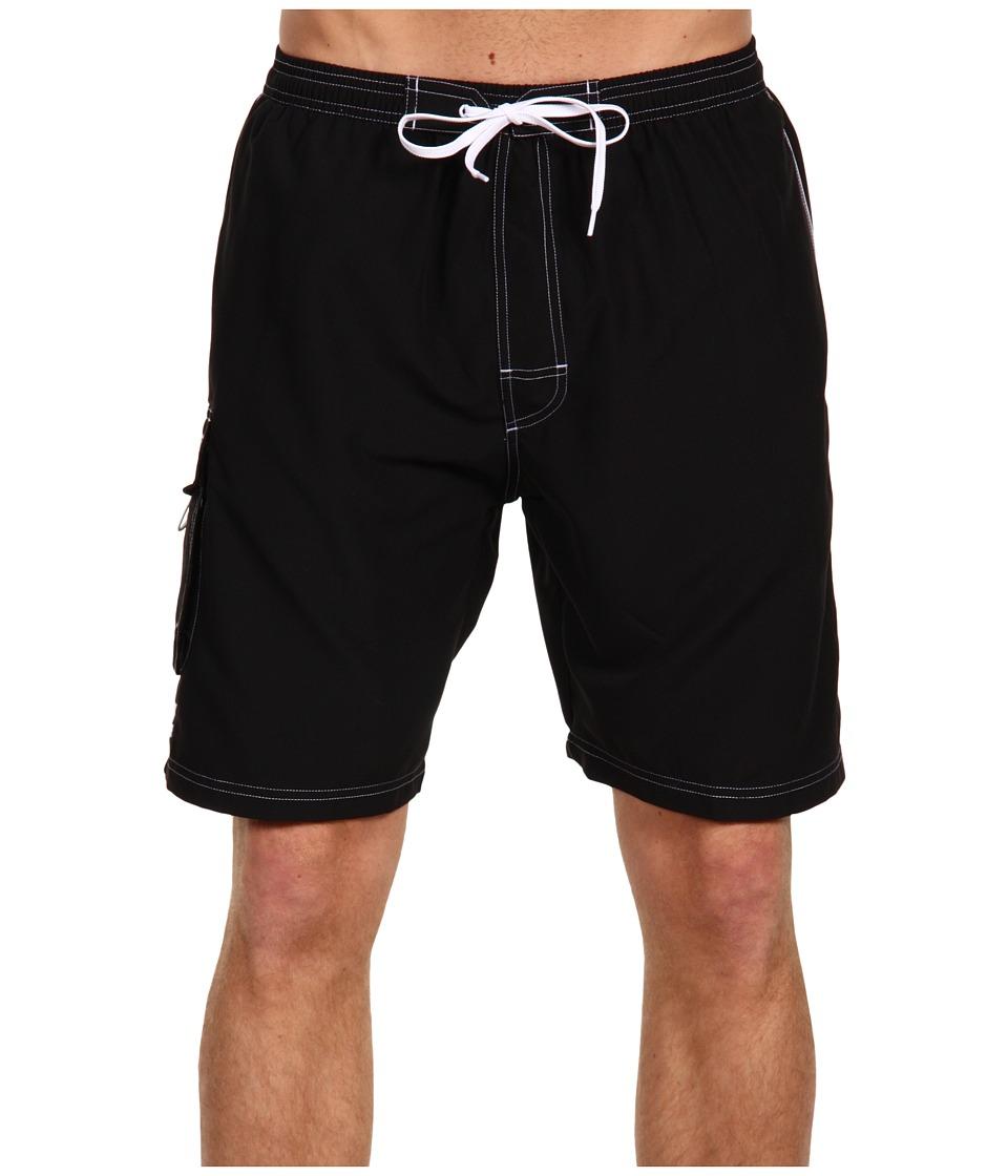 TYR Challenger Trunk Black Mens Swimwear
