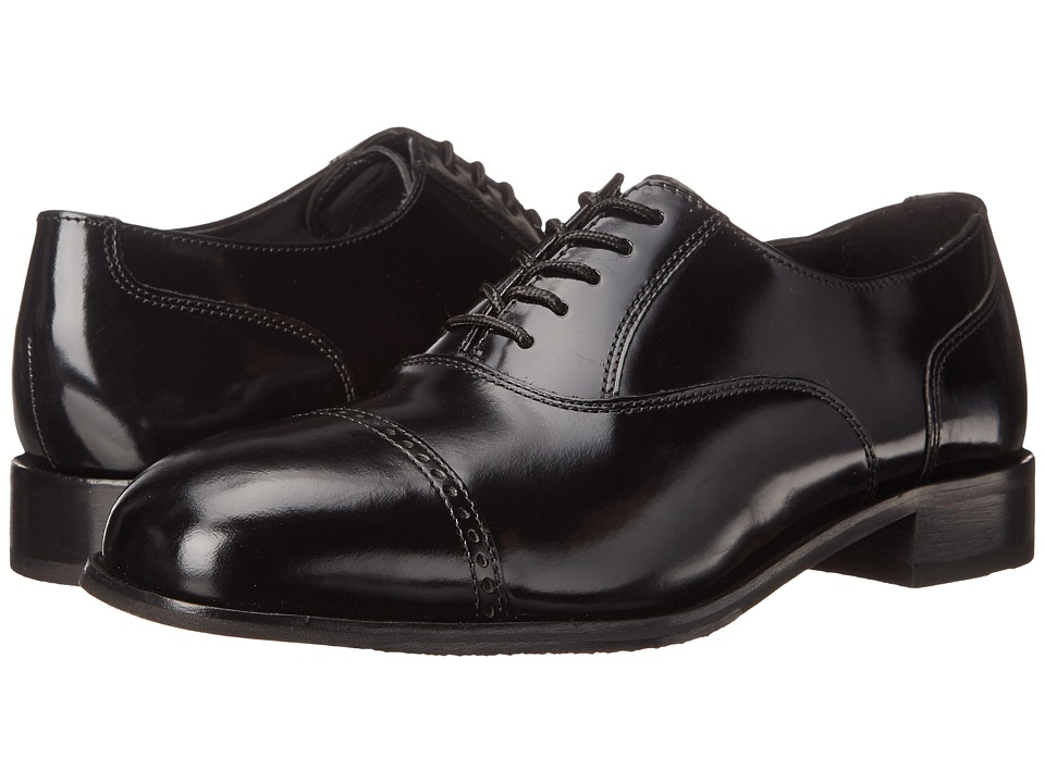 Florsheim - Lexington Perfed Tip (Black Legacy) Mens Lace Up Cap Toe Shoes
