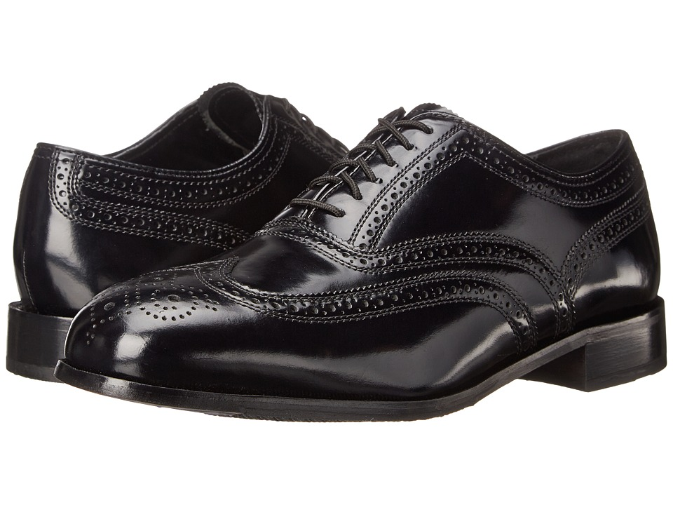 Florsheim - Lexington Wingtip Oxford (Black Legacy) Mens Lace Up Wing Tip Shoes
