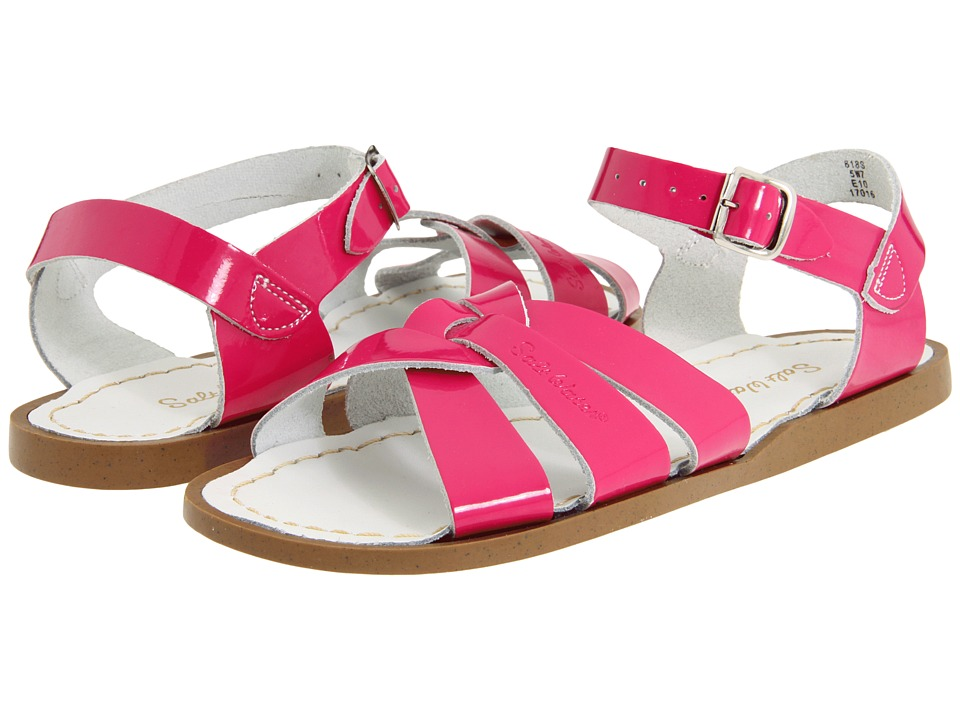 Salt Water Sandal by Hoy Shoes The Original Sandal (Big Kid/Adult) (Shiny Fuschia) Girls Shoes