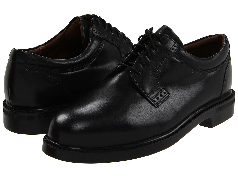 Florsheim - Noble Plain Toe Oxford (Black Devon) Mens Plain Toe Shoes