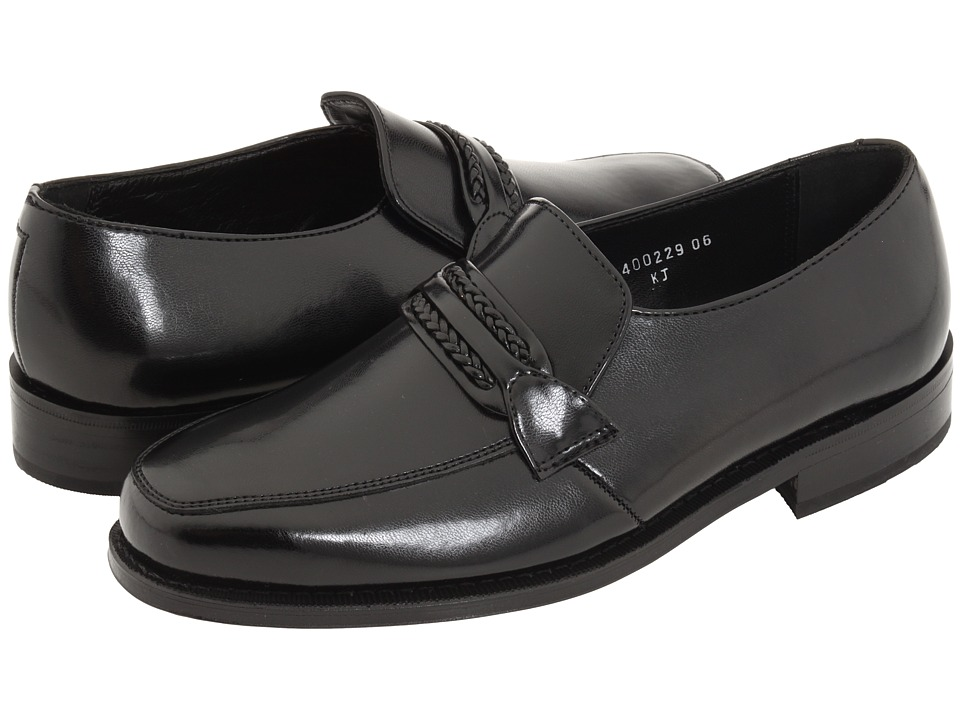 Florsheim - Richfield Slip-On (Black Ultimo) Mens Lace-up Bicycle Toe Shoes