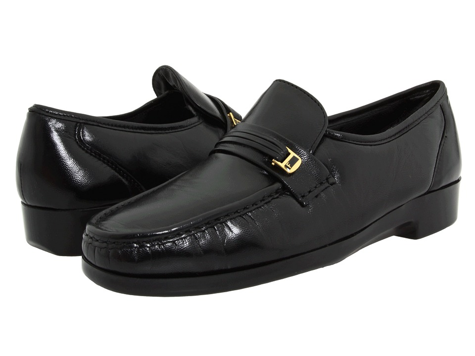 Florsheim - Riva (Black Nappa Kid) Mens Slip-on Dress Shoes