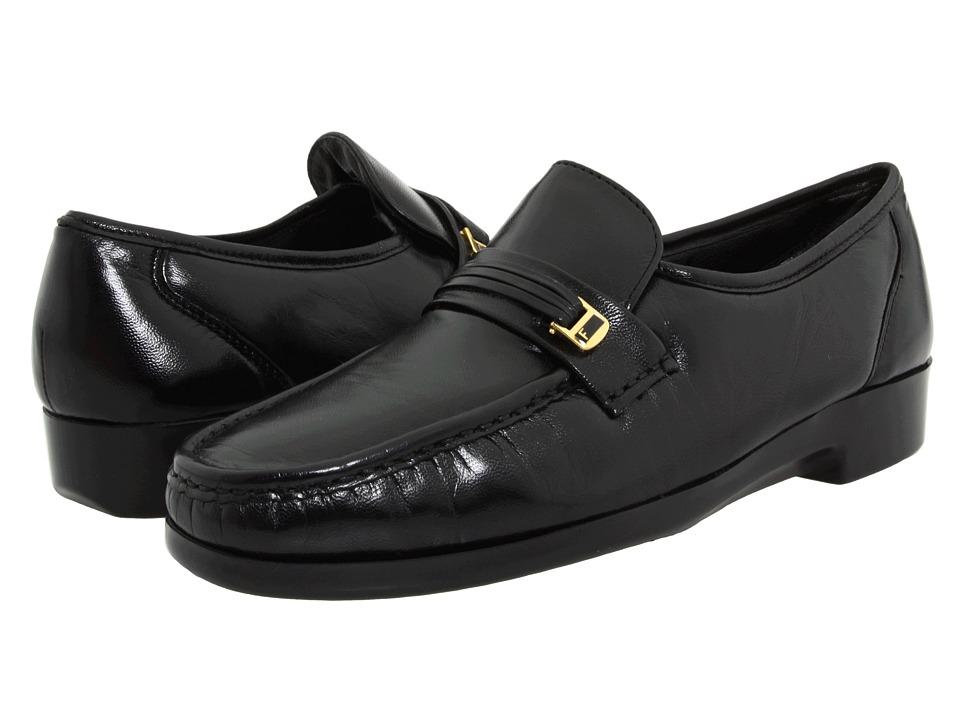 Florsheim - Riva (Black Nappa Kid) Mens Slip-on Dress Shoes