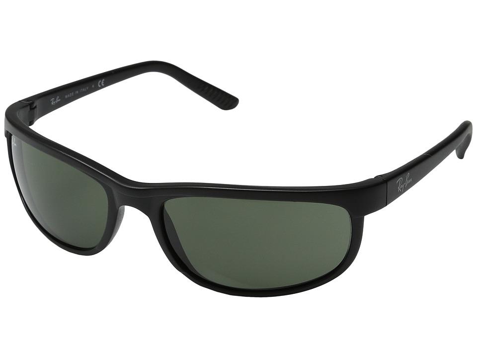 Ray-Ban - RB2027 Predator 2 (Matte Black/G-15xlt Lens) Sport Sunglasses