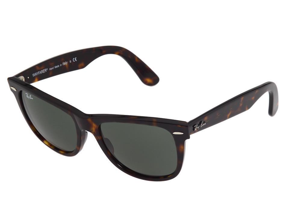 Ray-Ban RB2140 Original Wayfarer 54mm (Tortoise/G-15xlt Lens) Sport Sunglasses