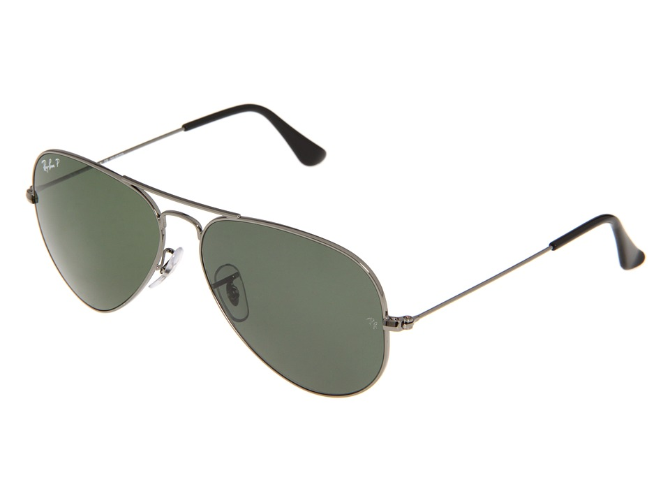 Ray-Ban RB3025 Original Aviator Polarized 58mm (Gunmetal/...
