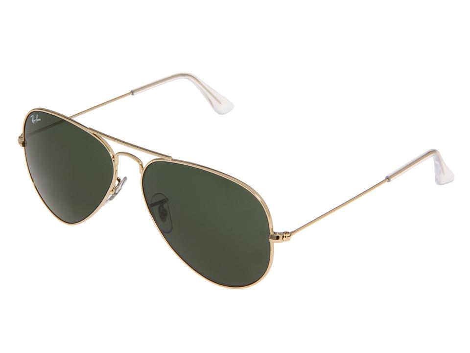 Ray-Ban RB3025 Original Aviator 58mm (Arista/G-15xlt Lens) Metal Frame Fashion Sunglasses