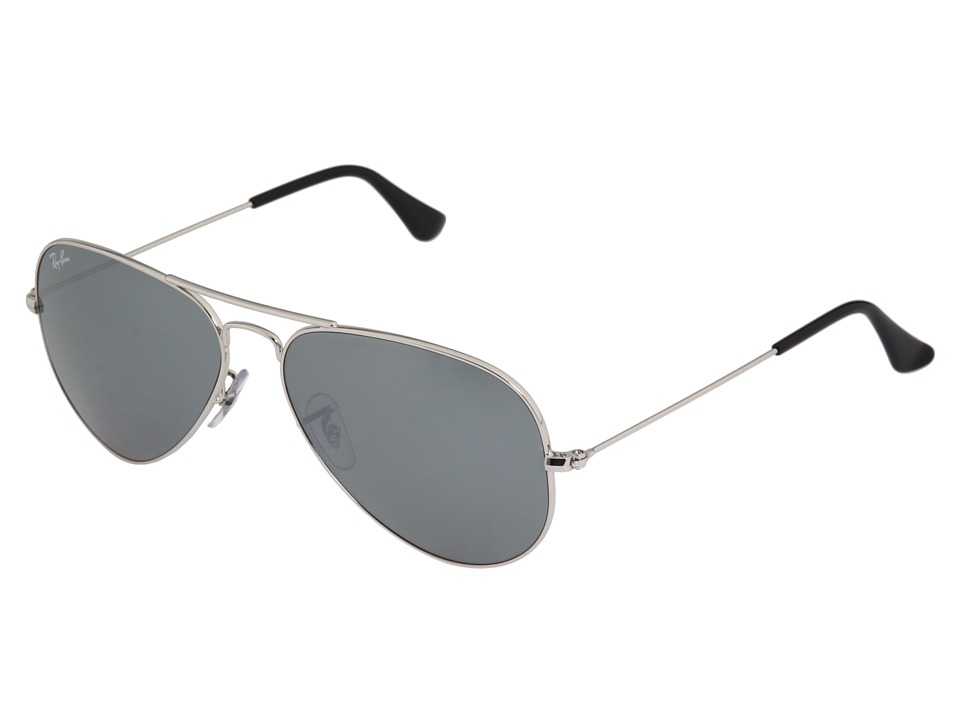 Ray-Ban RB3025 Original Aviator 58mm (Silver/Silver Mirror Lens) Metal Frame Fashion Sunglasses