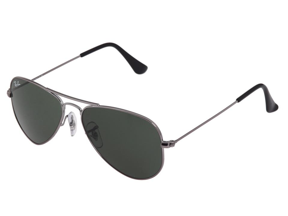 Ray Ban 3026 Aviator Large Metal II Black/G 15xlt Lens Sport Sunglasses