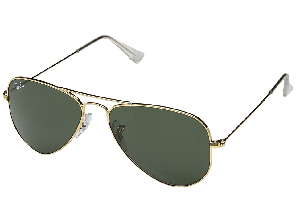 Ray-Ban - RB3044 Aviator Metal 52mm (Arista/G-15xlt Lens) Sport Sunglasses
