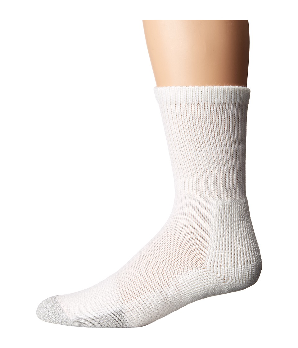 Thorlos - Tennis Crew 1-Pair Pack (White) Crew Cut Socks Shoes