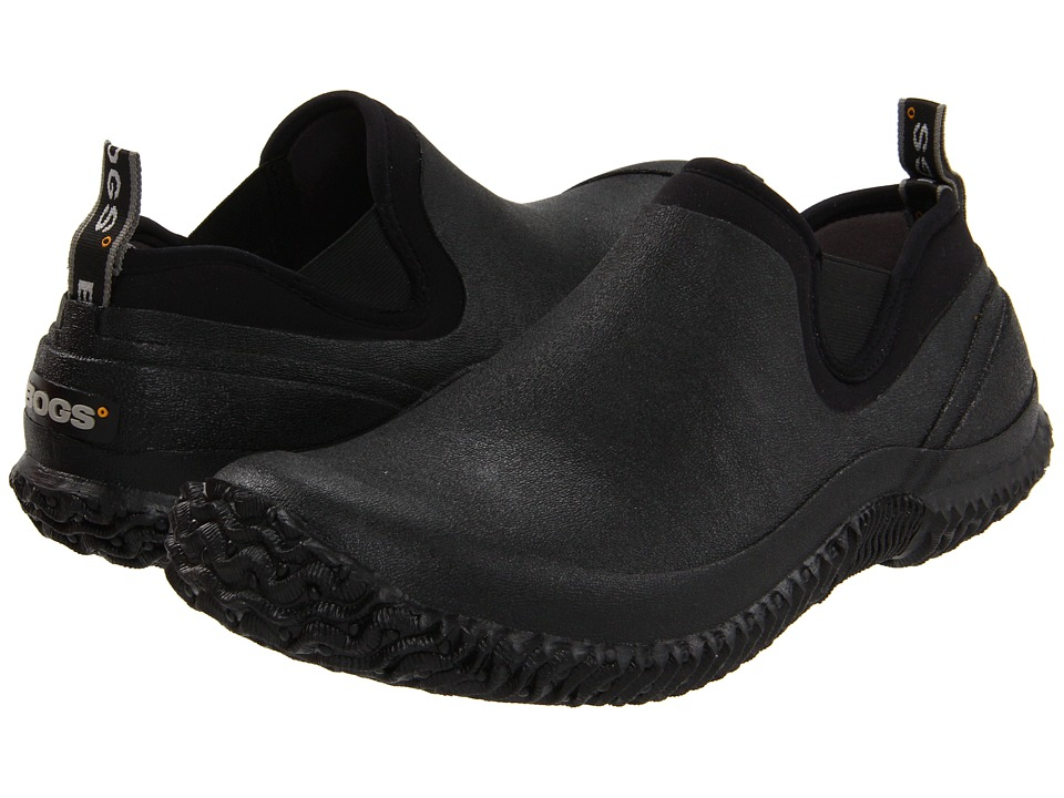 Bogs - Urban Walker (Black) Mens Slip on  Shoes