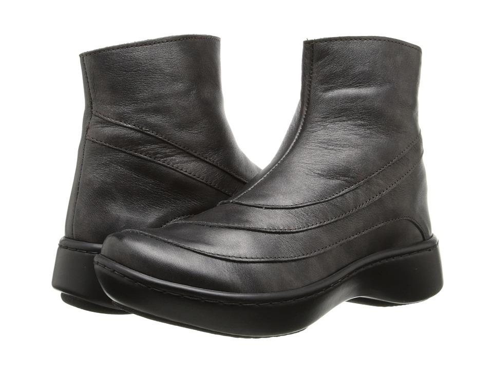 Naot Footwear Tellin (Black Pearl Leather) Women