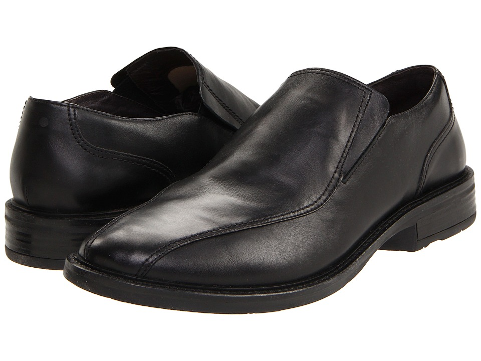 Naot - Success (Black Madras Leather) Mens Slip-on Dress Shoes