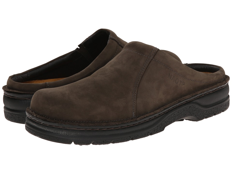 Naot Footwear - Bjorn (Oily Brown Nubuk) Men