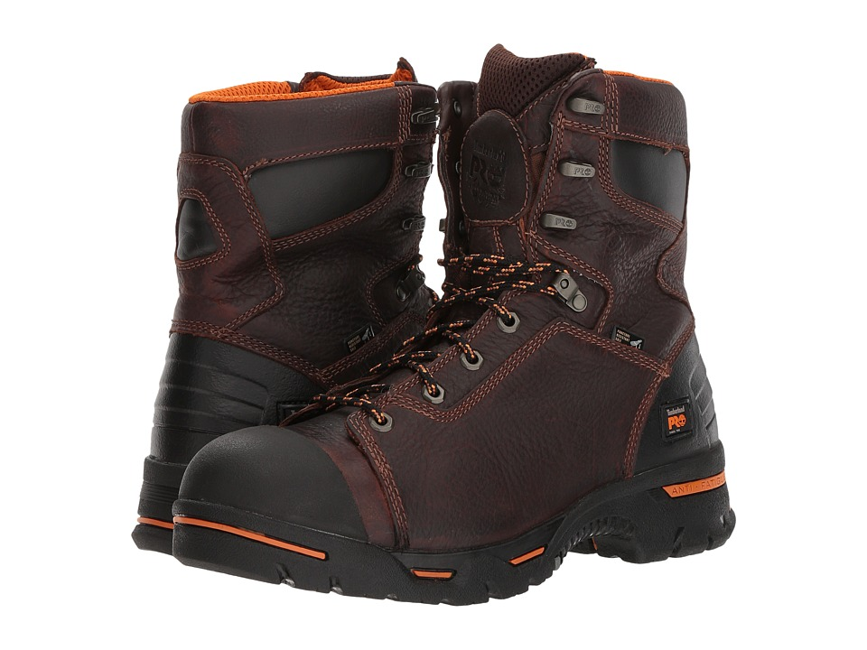 Timberland PRO - Endurance PR 8 Steel Toe (Briar) Mens Work Lace-up Boots