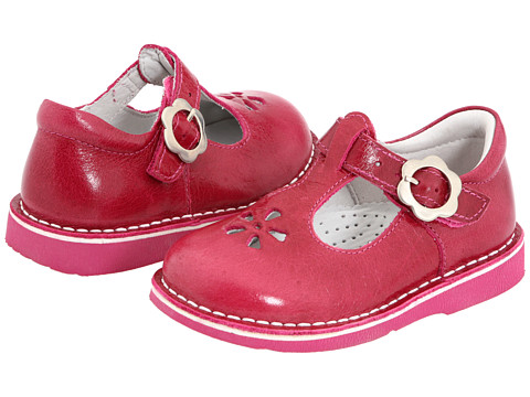 Kid Express Molly (Toddler/Little Kid/Big Kid) - Fuchsia Burnished Leather