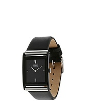 Citizen Watches - BL6005-01E Eco-Drive Ion-Plated Leather Strap Watch