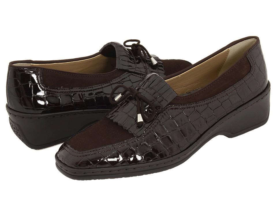 ara Rachel (Mocca Nubuk/Croco) Slip-On Shoes