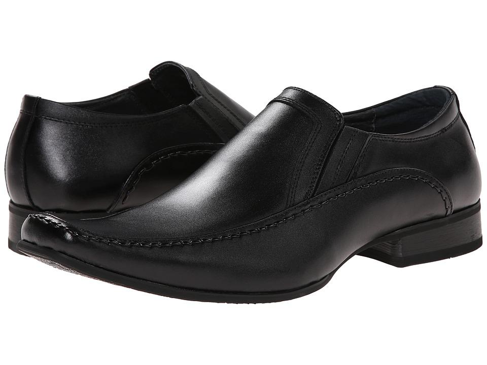 Giorgio Brutini - Downing (Black) Mens Slip-on Dress Shoes