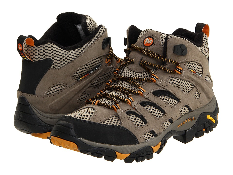 Merrell - Moab Ventilator Mid (Walnut) Men