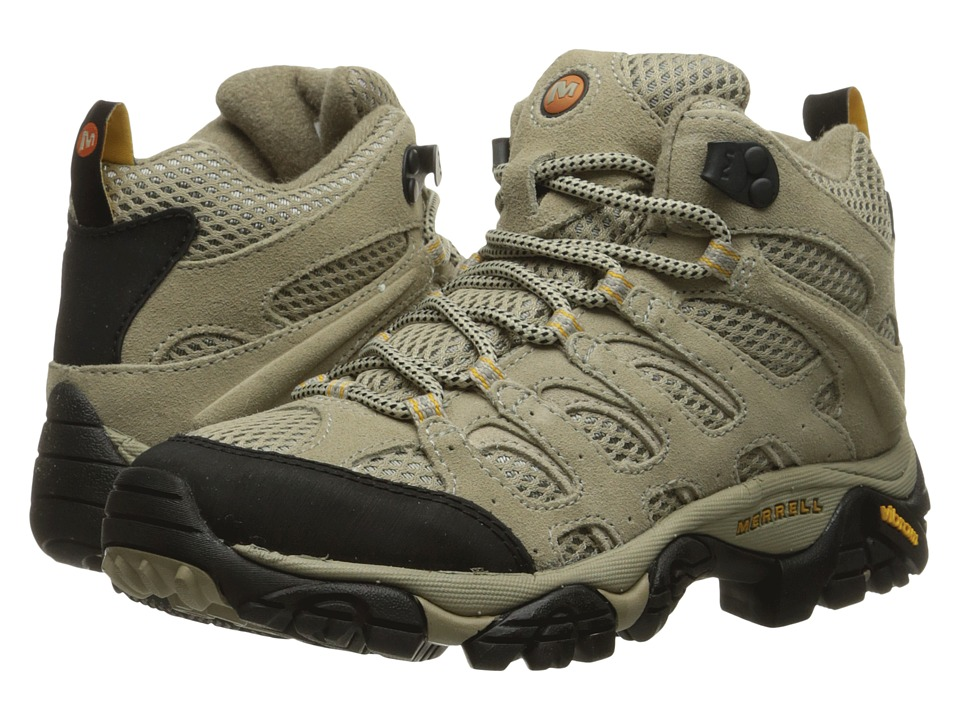 Merrell Moab Ventilator Mid (Taupe) Women's Hiking Boots