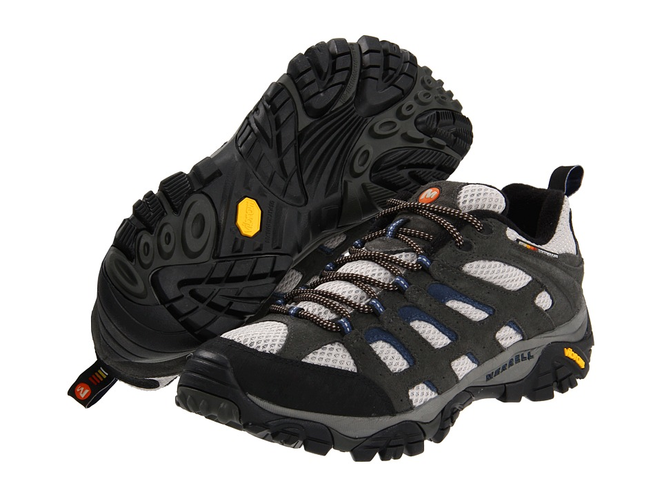 Merrell - Moab Ventilator (Beluga/Denim Blue) Men