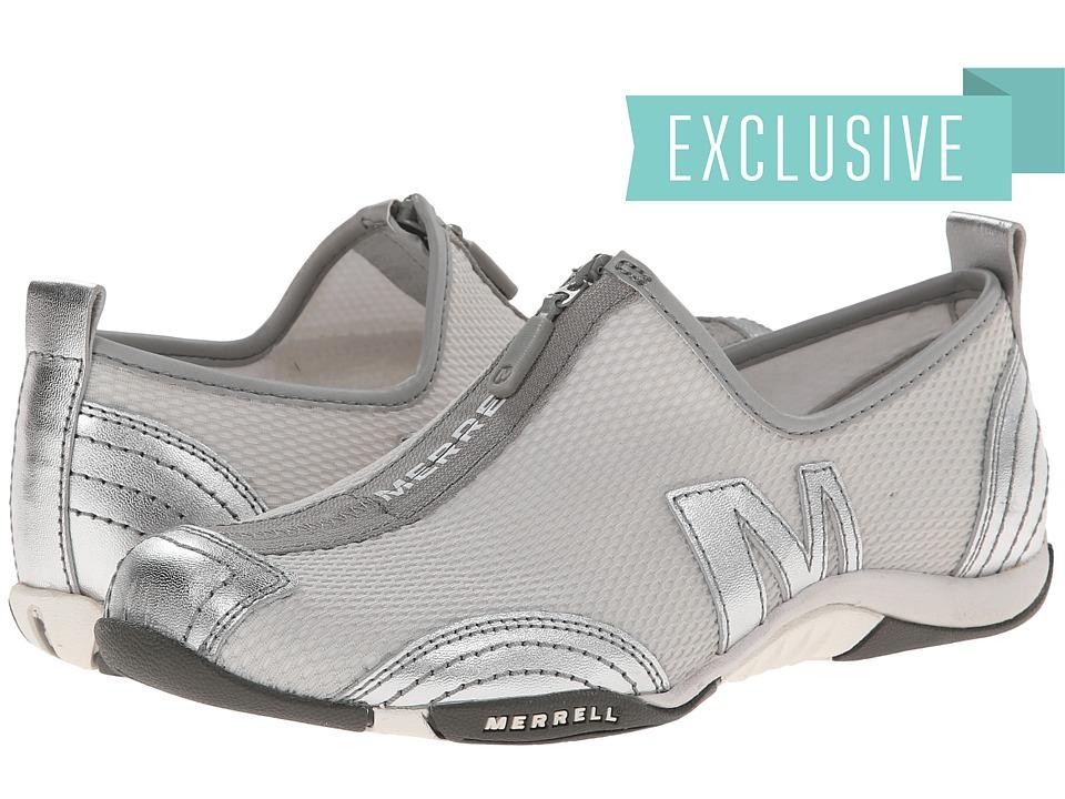 Merrell Barrado (Silver Leather) Flats
