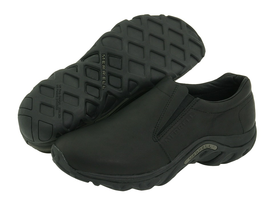 Merrell Jungle Moc Leather (Midnight Leather) Men