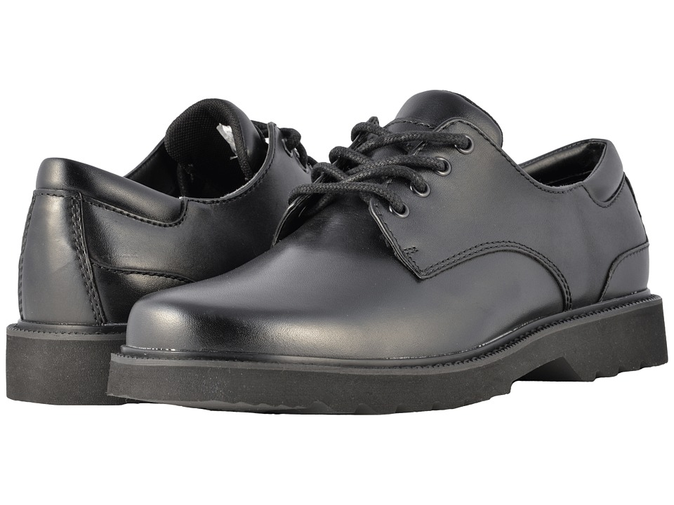 Rockport - Main Route Northfield Waterproof (Black Leather) Mens Lace up casual Shoes