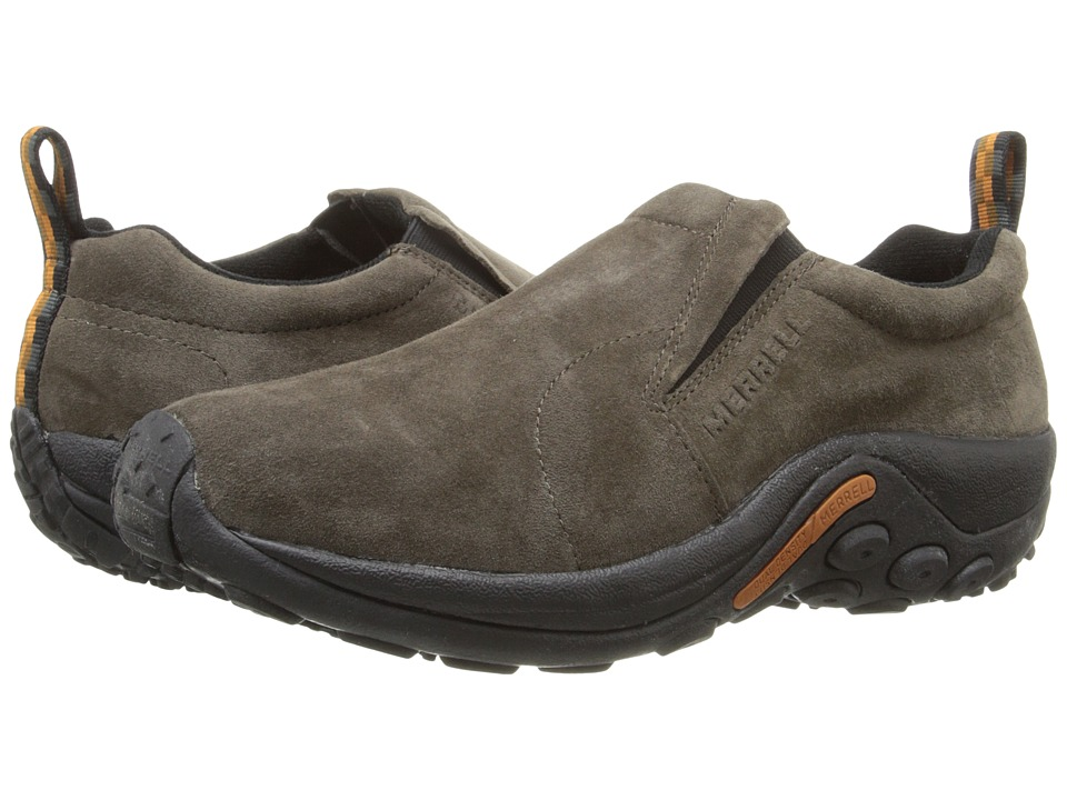 Merrell - Jungle Moc (Gunsmoke Suede) Mens Slip on  Shoes
