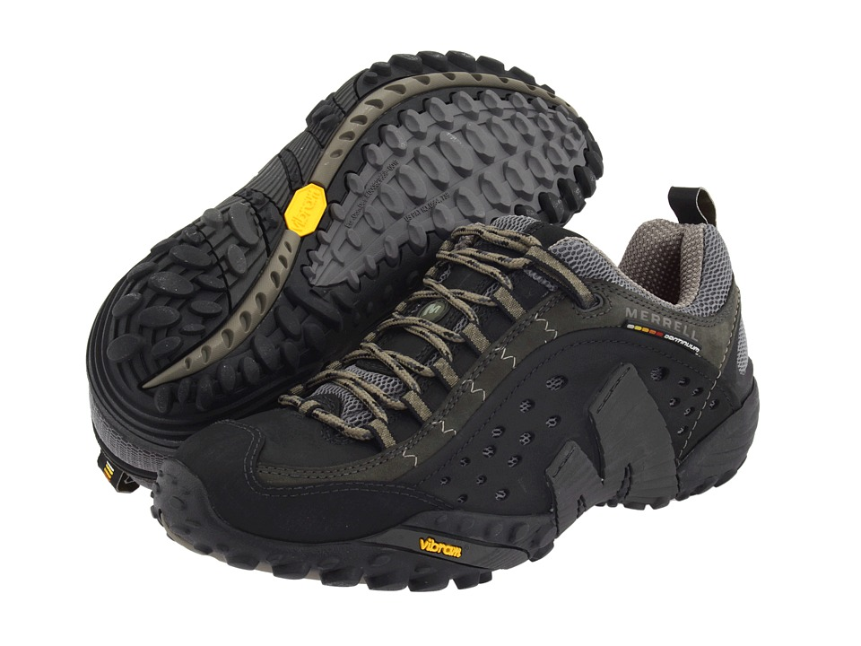 Merrell - Intercept (Smooth Black Leather) Men