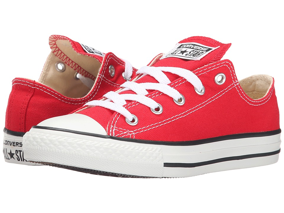 Converse Kids Chuck Taylor All Star Core Ox (Little Kid) (Red) Kids Shoes