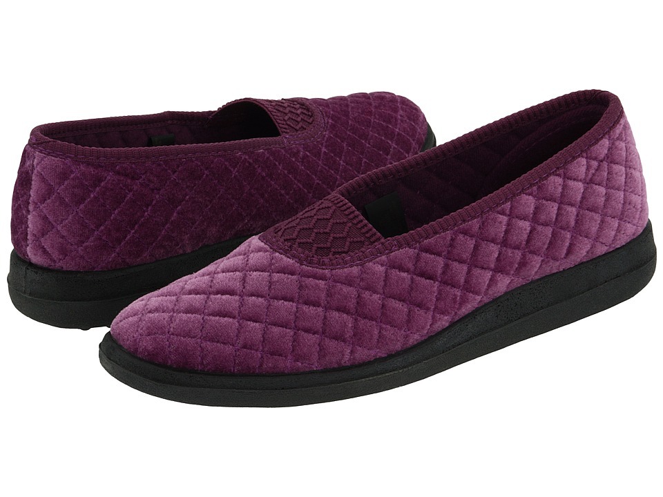 Foamtreads - Waltz (Lilac Velour) Womens Slippers