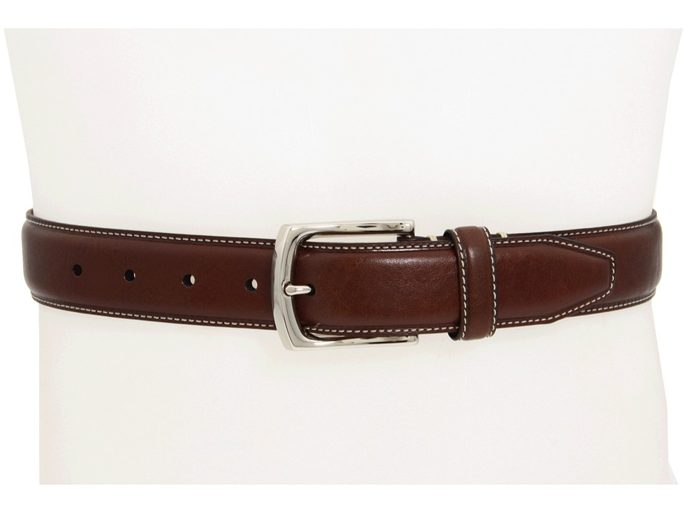 Johnston & Murphy Johnston & Murphy - Topstitched Belt