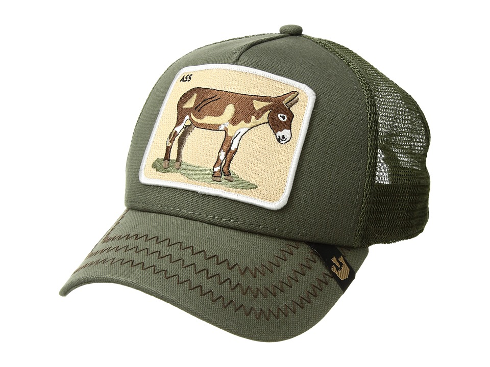 Goorin Brothers Animal Farm Donkey Olive Baseball Caps