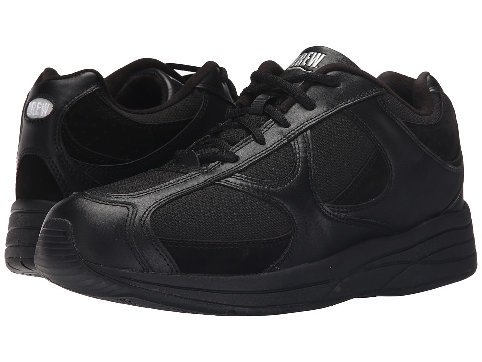 Drew - Surge (Black Leather/Nubuck/Mesh) Mens Lace up casual Shoes